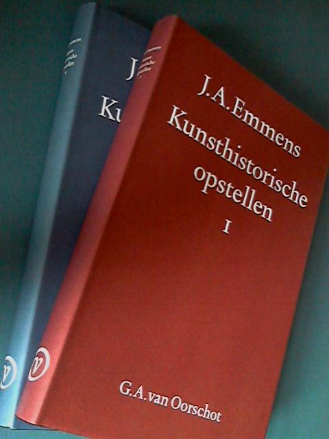 EMMENS, J.A. - Kunsthistorische opstellen deel 1 en 2