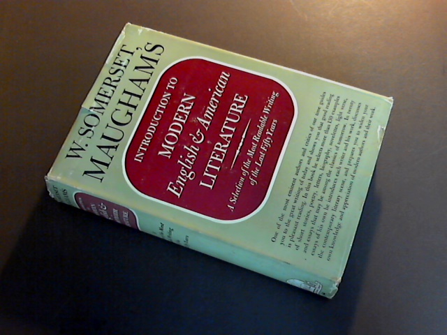 MAUGHAM, W. SOMERSET - Introduction to modern English and American literature