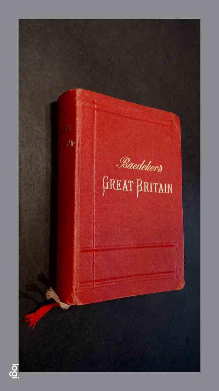 baedeker to britain guide