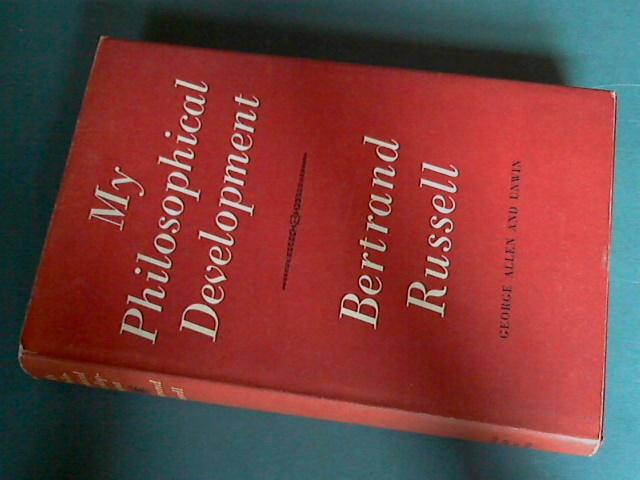 RUSSELL, BERTRAND - My philosophical development