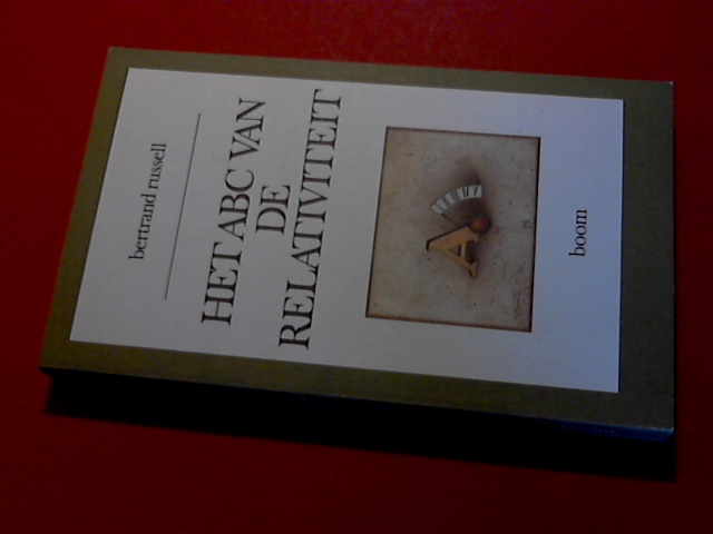 RUSSELL, BERTRAND - Het ABC der relativiteit