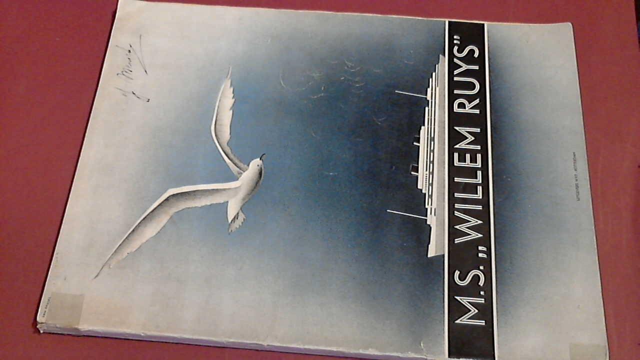 SCHIP & WERF - Dubbelschroef motorpassagiersschip Willem Ruys van de Koninklijke Rotterdamsche Lloyd n.v.