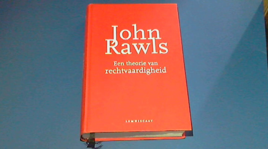 RAWLS, JOHN - Een theorie van rechtvaardigheid