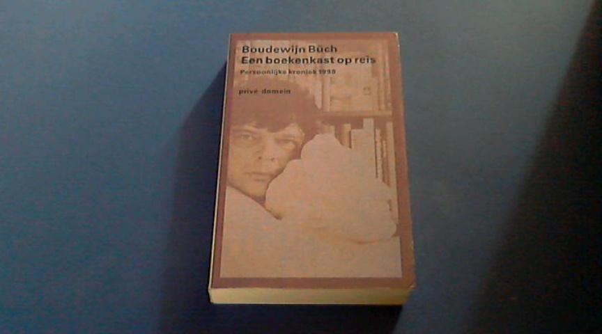 buch boudewijn een boekenkast op reis persoonlijke kroniek 1998
