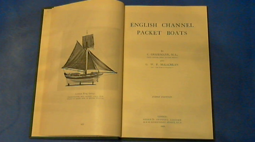 Grasemann, C. - English channel packet boats