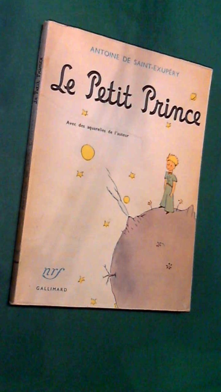 SAINT-EXUPERY, ANTOINE DE - Le petit Prince