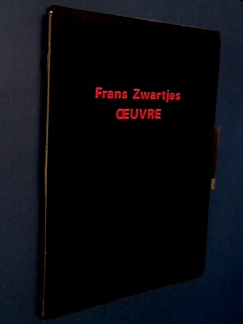 ZWARTJES, FRANS - Oeuvre