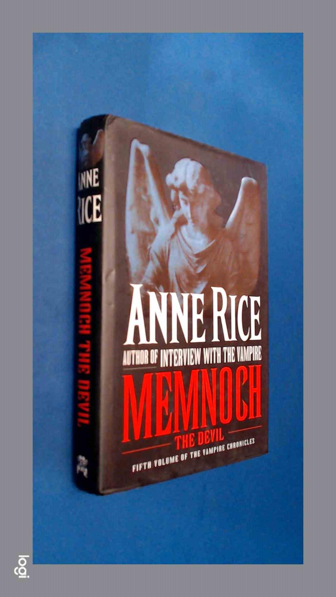RICE, ANNE - Memnoch the devil