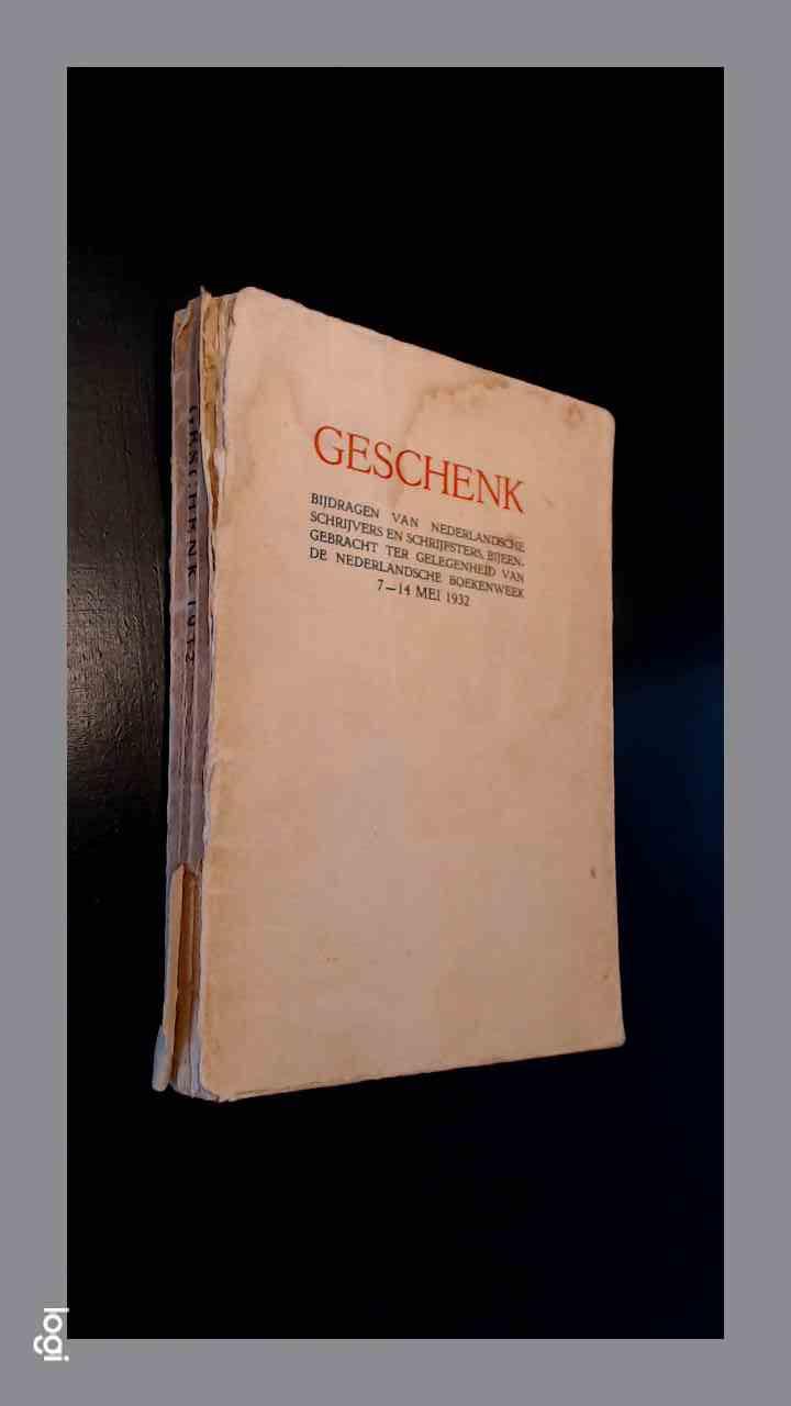 Geschenk 1932 - Bijdragen v...