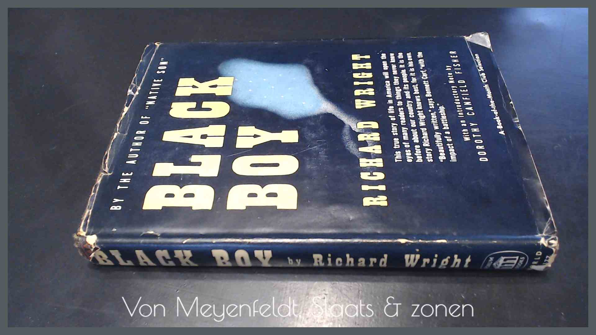 WRIGHT, RICHARD - Black boy - A record of childhood and youth